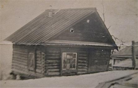 В этом доме, до революции,  жил Пётр Заломов . Фотография из архива моих родственников.