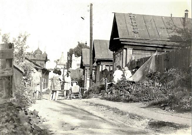 Улица Слобода Кошелёвка, 1950-е годы.