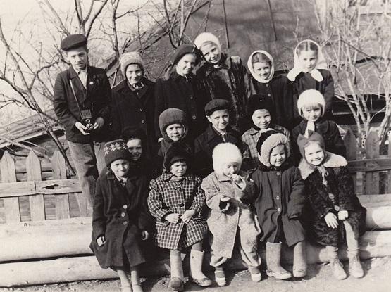Дети Кошелёвки, 1950-е годы.