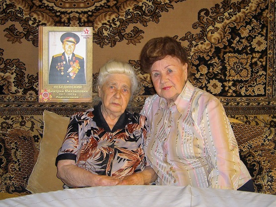 Мама Вера Николаевна и её младшая сестра Алевтина Николаевна.