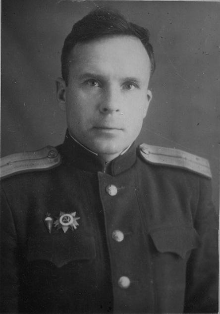 Мой отец, Дмитрий Михайлович. Послевоенная фотография