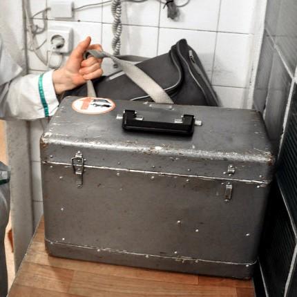 Тяжеленный чемоданчик врача