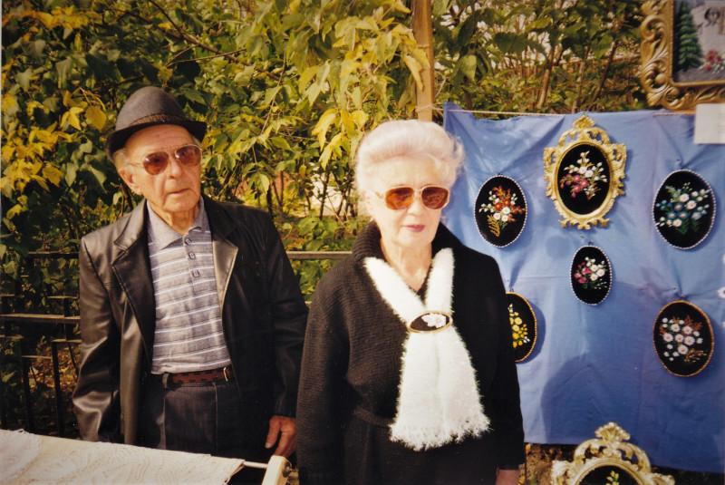Мама и папа в День города Балахны
