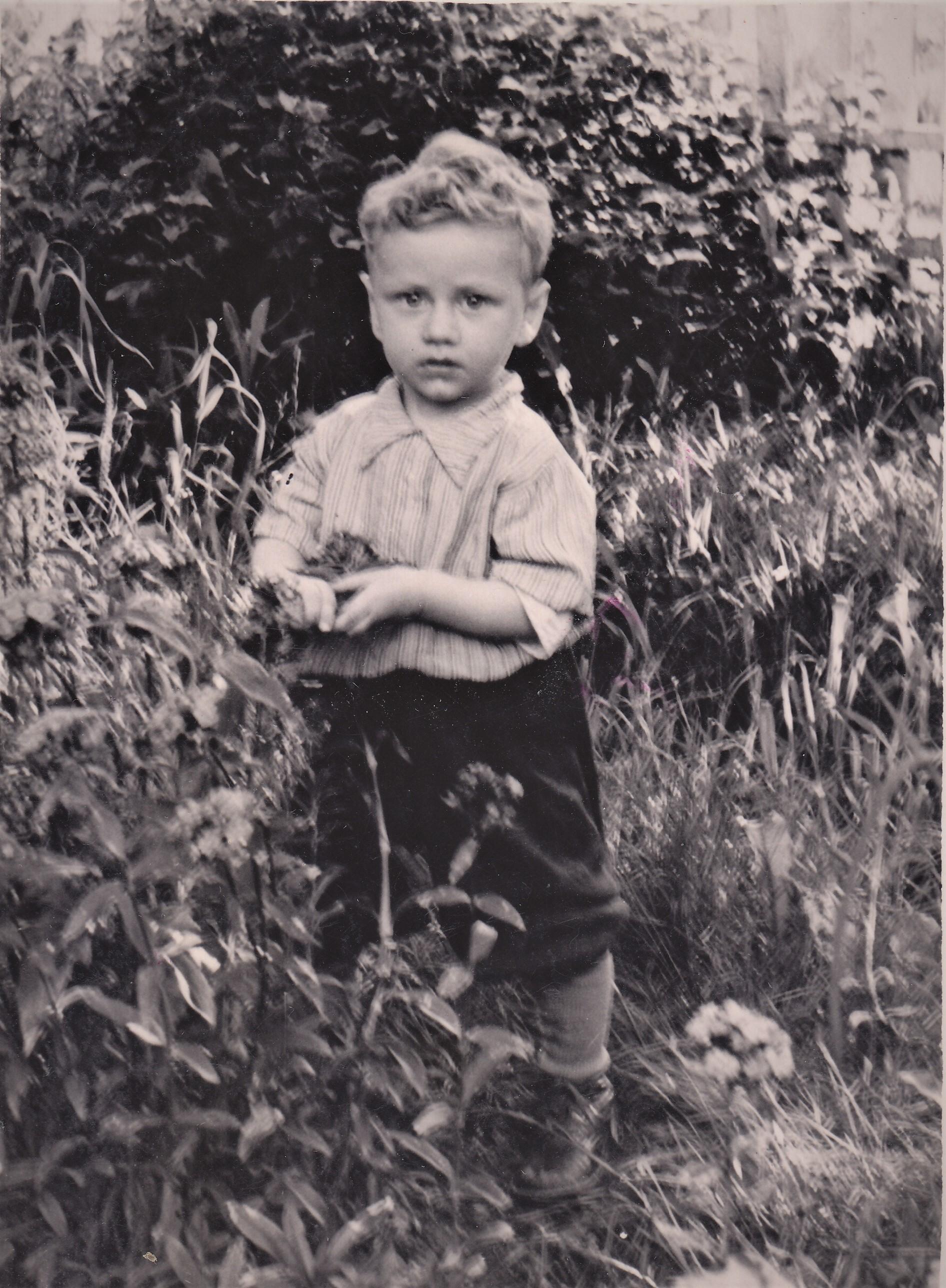 4. Мальчик 50-е годы.