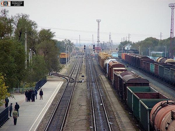 Станция Верхний Баскунчак