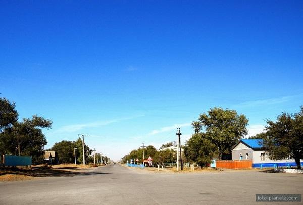 Улочка Верхнего Баскунчака