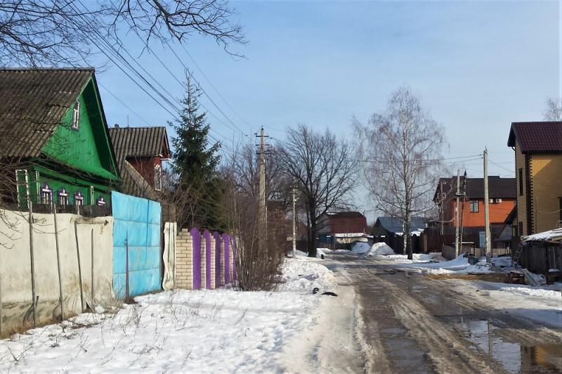 Боровская улица, январь 2020 года.
