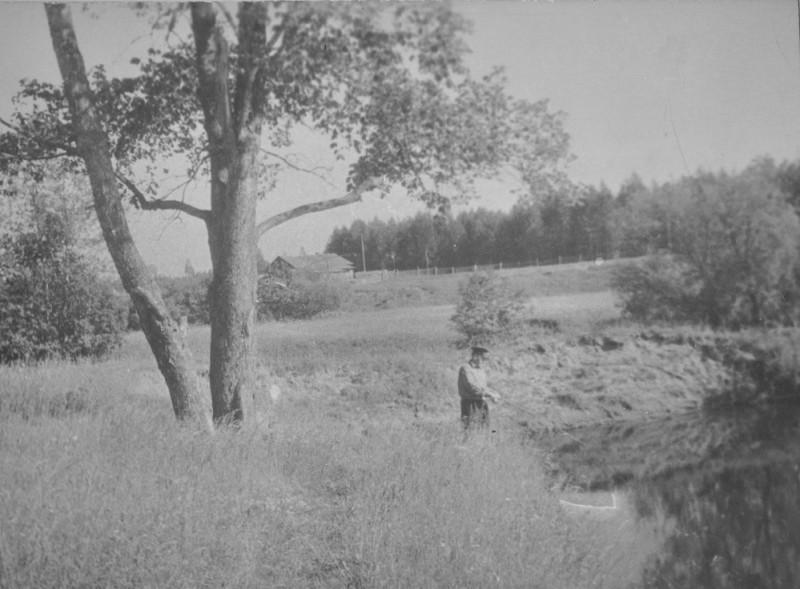 Рыбалка на реке Пижма вблизи посёлка Шуйка
