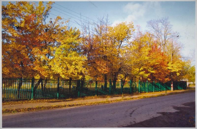 2. Дорога вдоль школьного двора