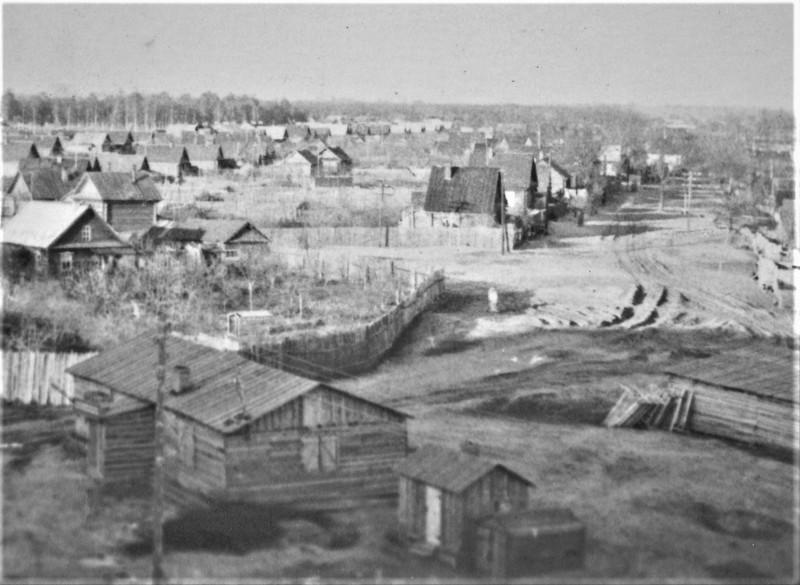 16. Вид на Боровскую улицу. Фото 60-х годов.