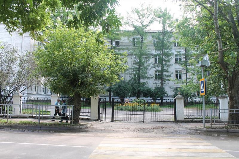Моя школа, бывшая им. Ленина.