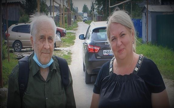 Я с Еленой Юрьевной.