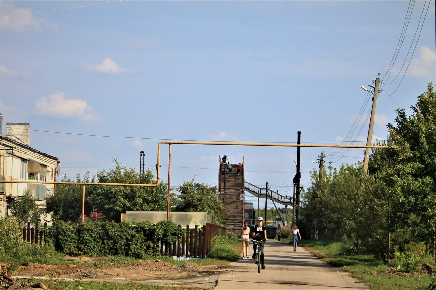 Подход к мостовому переходу.