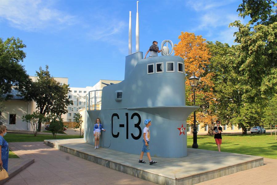 Рубка подводной лодки.