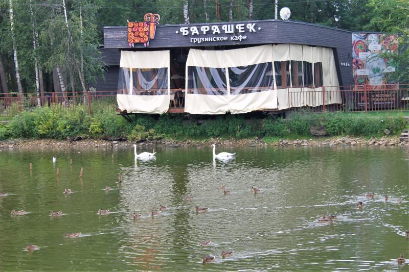 Озерцо в Сормовском парке.