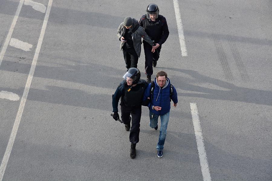 Акция протеста Навального