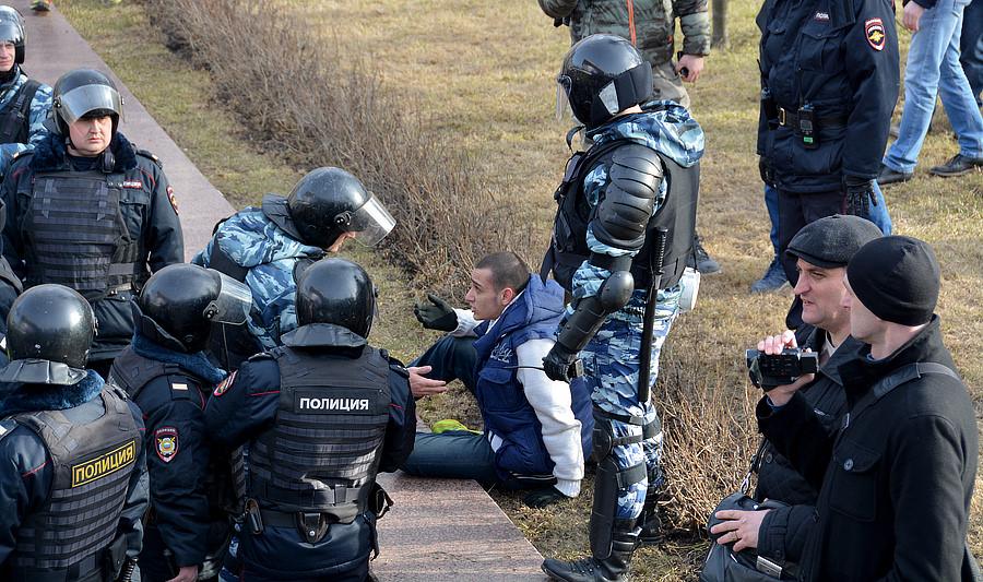 Полицейские 26 марта