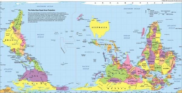 australian-world-map