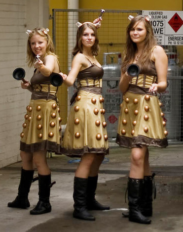 Dalek women costumes