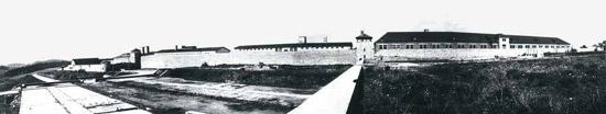 Маутхаузен в 1945. Общий вид