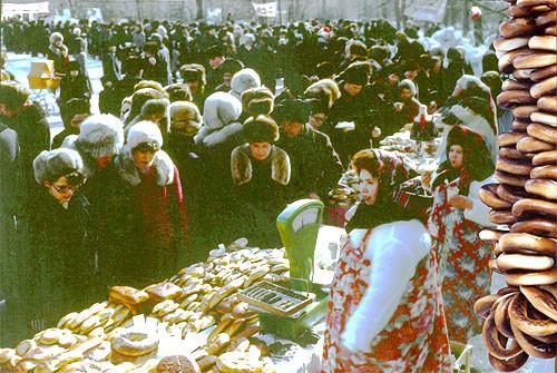 Ахмеров РИ Фото.Масленица в Академгородке 1970