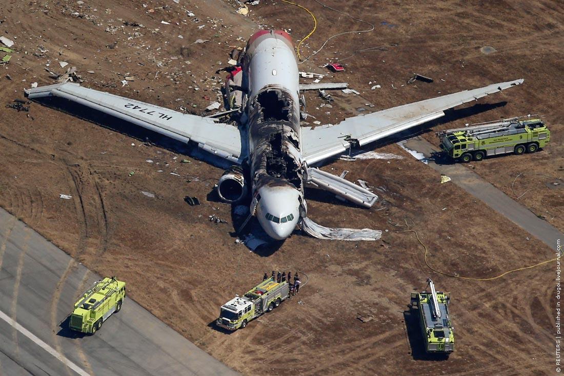 Картинки аварий самолета