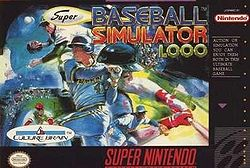 Super Baseball Simulator 1.000 (SNES)