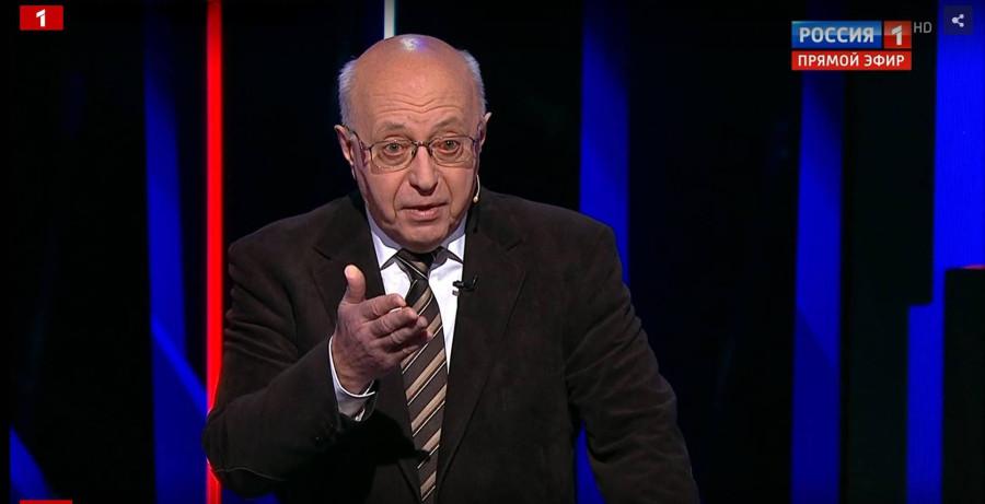 Сегодня, 16 сентября, в 23:15 Сергей Кургинян в передаче «Вечер с Владимиром Соловьевым» на России-1