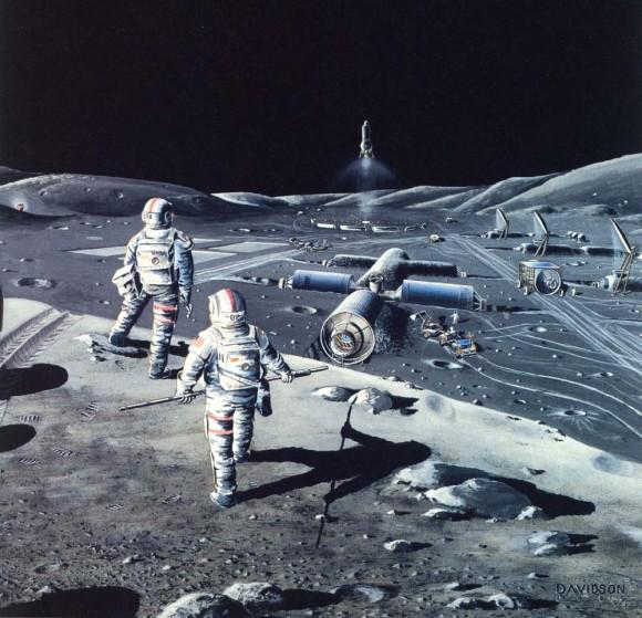 Луна -космическая база 2
