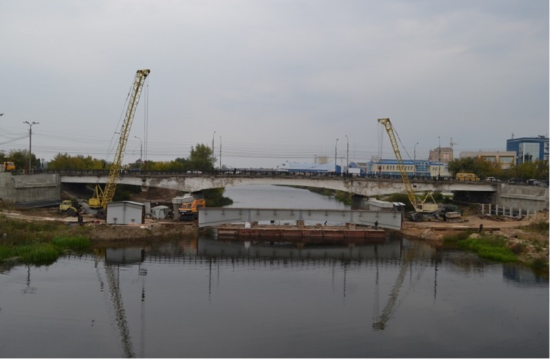 мост стройка