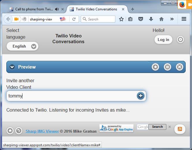 Видео и аудио переговоры