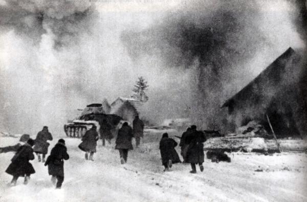 Бой за горящую деревню