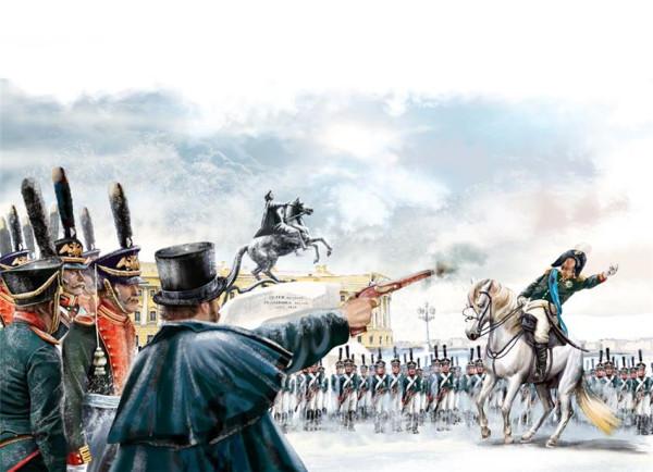 Каховский убивает Милорадовича