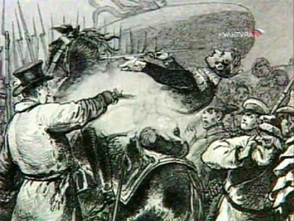 Каховский убивает Милорадовича правильно