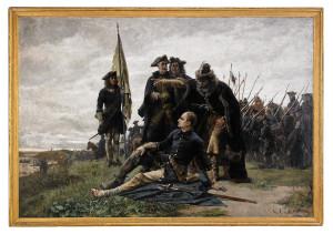 Карл XII и Мазепа после Полтавы