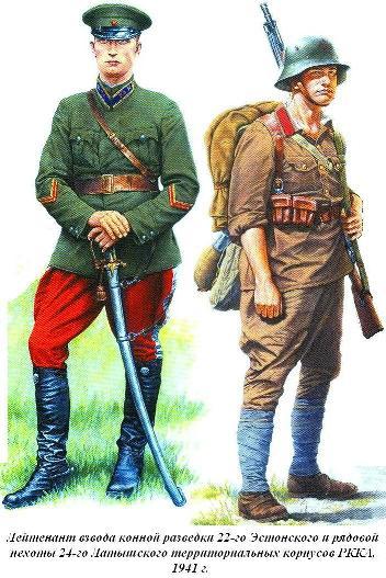 Территориальные корпуса 1941