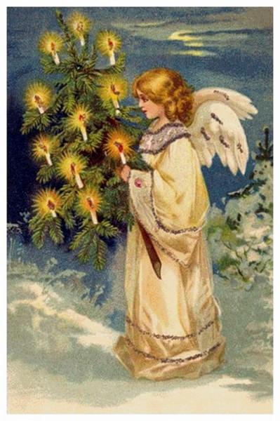 Ангел зажигает свечи