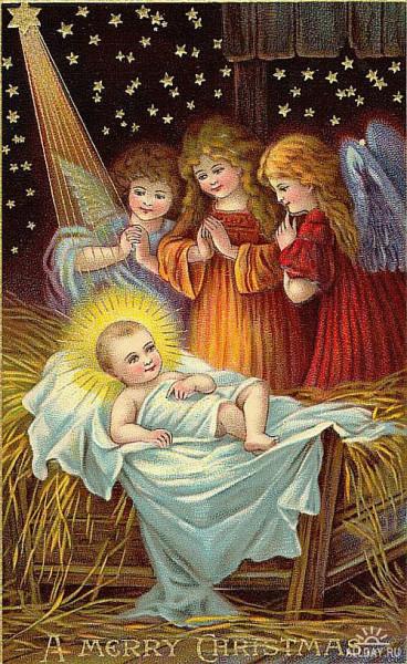 Спаситель с ангелами