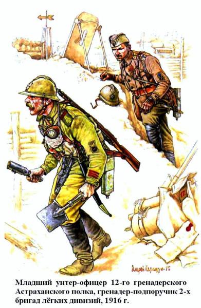 Гренадеры 1916