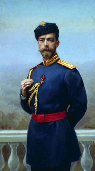 Николай Второй в стрелковом мундире