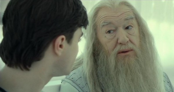 Гарри и Дамблдор на том свете