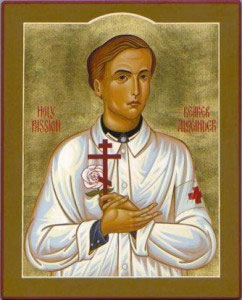Св. Александр Шморель икона