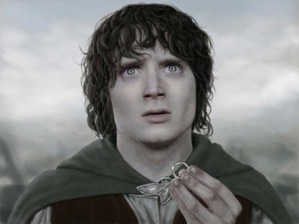 Фродо с кольцом