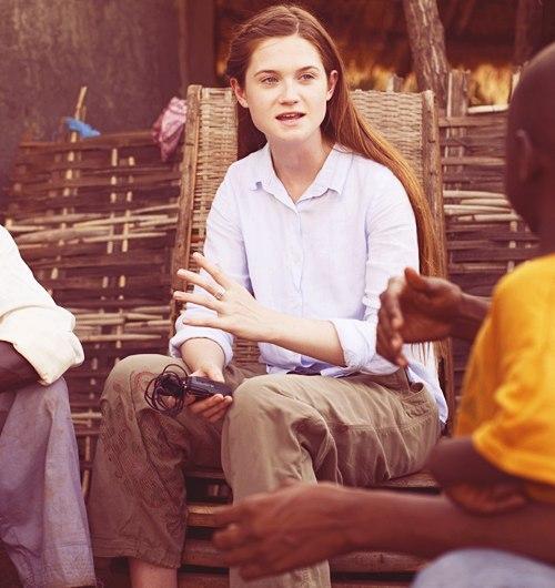 Добрая волшебница Бонни Райт в Африке