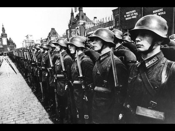 Красная Армия на параде 1940