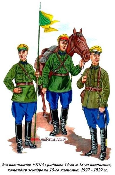 3-я кавдивизия 1927