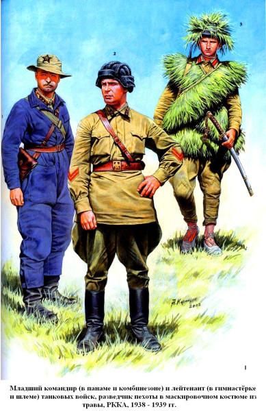 Разведчик и танкисты 1939