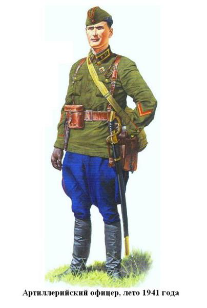 Артиллерист в 1941 году