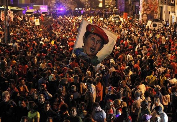 Чавес - наше знамя