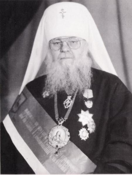 Митрополит Николай Кутепов с орденами